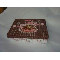 China Cardboard Paper Box Cake Box Packaging With Embossing OEM Design on sale