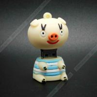 Quality Lovely cartoon pink pig usb flash drive 4GB 8GB 16GB 32GB Pendrive memory stick disk pen drive wholesale