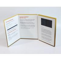 Quality A4 Size Portrait Lcd Video Greeting Card , Full Colors Video Brochure For Christmas wholesale