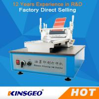 Quality 120W Printing Coating Testing Machines Ink Proofer Repeatable Gravure 26kg with Size 500x425x350mm wholesale