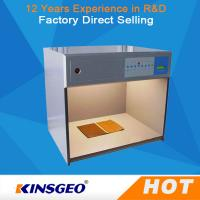 Quality Electronic Colour Matching Cabinet , Colour Matching Light Box For Color Assessment Tes wholesale