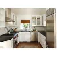 Quality Shaker solid wood kitchen cabinet wholesale