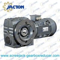 Quality 3/4HP 0.55KW Helical-worm gear units Gear Reducer,Helical Worm geared motor Specifications wholesale