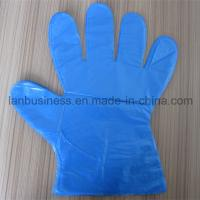 Quality Ly Disposable Blue PE Gloves wholesale