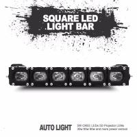Quality Christmas gift factory directly sale new square led light bar universal fitting wholesale