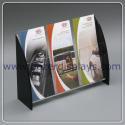 3 Pocket Plastic Brochure Display Holders for sale