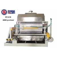 Quality 4x8 4000pcs/H Rotary Egg Tray Forming Machine wholesale