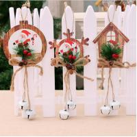 Quality Hanging ornaments foam star snowflake house for christmas tree decoration wholesale