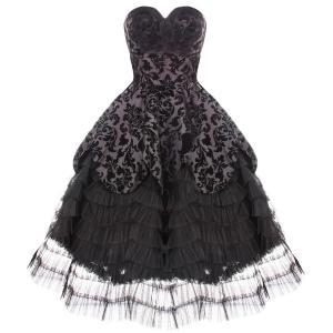 Quality 50s Vintage Rockabilly Prom Sun Dress CS-B09 wholesale