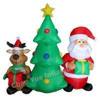 Quality 2015 Hot Sale LED Inflatable Christmas Tree Decorations for Christmas Holiday wholesale