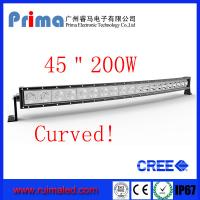 Quality 45 200W Curved Led Light bar-Cree Single Row Led Light Bar wholesale