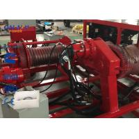 Quality Double Wheel Hydraulic Puller And Hydraulic Winch 77kw 103hp Cummins Engine wholesale