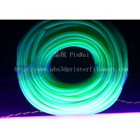 Cheap Fluorescence PVC Plastic Flexible Hose Blue / Green For Automobiles , Computers , Lighting for sale
