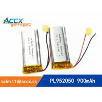 Quality 952050pl 3.7v lithium polymer battery with 900mAh li-ion battery for bluetooth headset wholesale