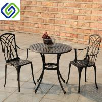 China Cheap Price Outdoor Patio Furniture 5PCS Dining Set Cast Aluminum Table Set on sale
