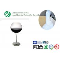 Quality Wine Glass Transparent Liquid Silicone Rubber , Clear Silicone Rubber Liquid wholesale