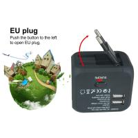 Cheap 10A PC Material Travel Power Adapter Compatible With Electrical Devices for sale