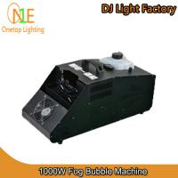 Quality 1000W Fog Bubble Machine Guangzhou DJ Light Factory Stage Light wholesale