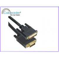 China DVI-D Monitor Cable DVI 18+1 male To VGA Male Cable on sale