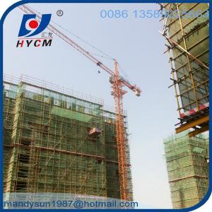 Quality 50m Working Range Tower Crane Price wholesale