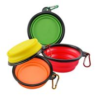 Quality Slow Feed Collapsible Dog Water Bowl , Interactive Durable Travel Dog Bowl Collapsible wholesale