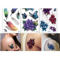 Quality Body Art Temporary Tattoo Sticker Girl Decoration Butterfly Fake Tattoo wholesale