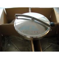 Cheap Stainless Steel Tank Manhole Cover With Sight Glass Stainless Steel Pressure Manway for sale