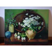 China Customized Oil Painting Prints Reproduction Mounted On Wood Frame on sale