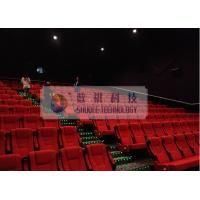 Quality Comfortable 3D Cinema System , Luxury Theater Seats And Powerful Sounds wholesale