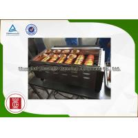 Cheap Big Kitchen Commercial Gas Barbecue Grills , Natural Gas Bbq Grill With 6 Burners for sale