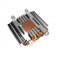 Cheap Finishing Passivation Copper Pipe Aluminum Fin Heat Sink / Thin Heatpipe for sale
