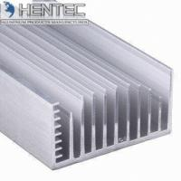 China Anodized Aluminum Heat Sink Extrusions 6063 / 6061 / 6005 T5 on sale