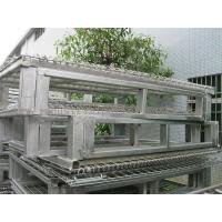 Buy cheap Racking System Metal Pallet Containers With Wire Mesh Storage Boxes 47
