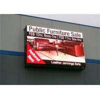Quality P10 Outdoor Full Color Led Display , Commercial Advertising LED Display IP65 wholesale