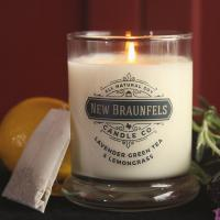 Quality Glass Material Scented Jar Candle Luxury Soy Wax Candles Customized Fragrance wholesale