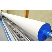 China Large Size Industrial Rubber Rollers For Steel , Paper , Textile / Printing Rubber Roller on sale