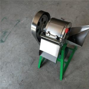 China Small onion slicing machine, potato fingers cutting machine, potato french fries machine on sale