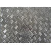China 3003 Stair Tread Plates Five Bars Diamond Checker Plate Sheet For Flooring on sale
