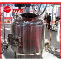 Quality SUS304 / SUS316 Beer Brewing Tanks Commercial High Precision wholesale