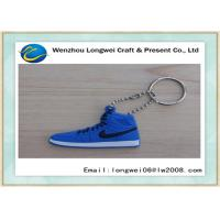 China Gift choice sneaker shoes shaped soft PVC keychain/rubber keychain with customized design on sale