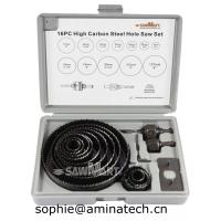 Quality 16-Piece Hole Saw Set with Case wholesale