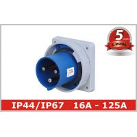 Quality Waterproof 220V 3 Pin And Sleeve Receptacle with Flush Mounted wholesale