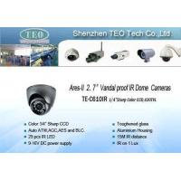 China Vandal-resistant IR Dome Camera on sale