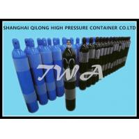 Cheap 2-15L  Alloy Steel Seamless Steel Gas Cylinder / Co2 Argon Gas Cylinder for sale