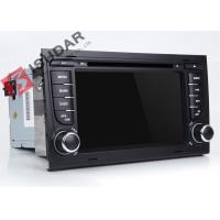 Quality Split Screen Audi A4  2 Din Car DVD Player With Bluetooth Android 7.1.1 OBD Support wholesale