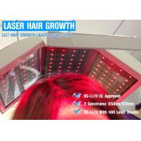 Quality 650nm / 670nm Wavelength Hair Laser Growth Machine Energy Adjustable CE ISO13485 wholesale