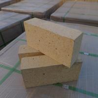 Quality Customized Size Heat Resistant Bricks , High Alumina Fire Bricks Natural Yellow Color wholesale