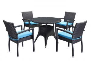 Quality Restaurant Table Chairs Set PE Rattan Outdoor Furniture wholesale