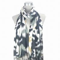 Quality Cashmere-like zebra-printed scarf with nice soft texture wholesale