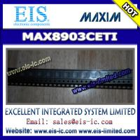 Quality MAX8903CETI - MAXIM - 2A 1-Cell Li DC-DC Chargers for USB and Adapter Power Thermistor Mon wholesale